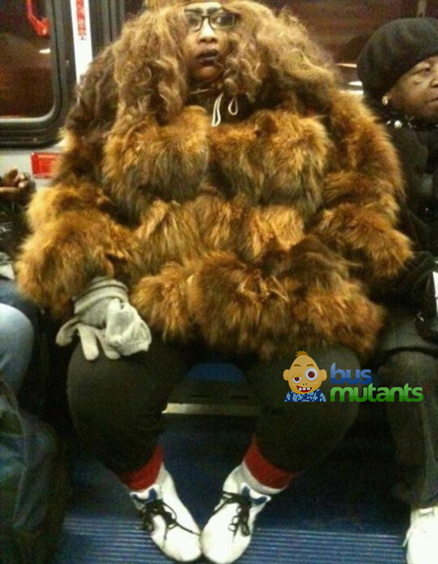Bigfoot one the bus